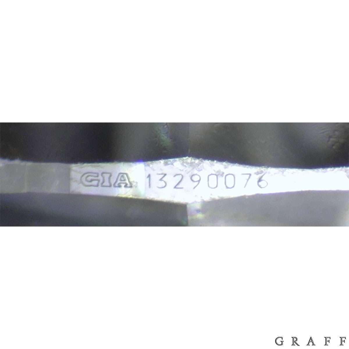 Graff White Gold Diamond Earrings 2.76ct TDW